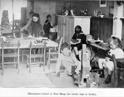 オランダの教室 1915年
